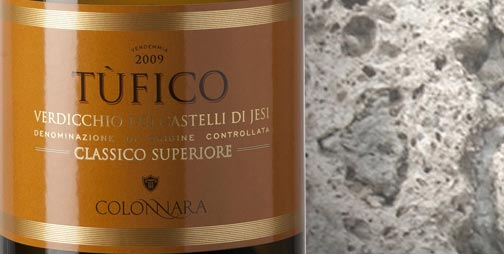The Verdicchio Superiore Tufico, a late harvested wine, was born