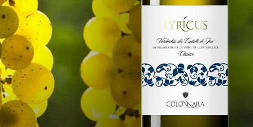 The Verdicchio Lyricus was born