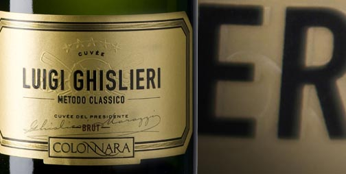 The Luigi Ghislieri wine was born