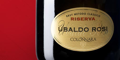 International award for the Ubaldo Rosi wine